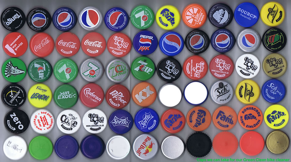 Bottle Caps we can use